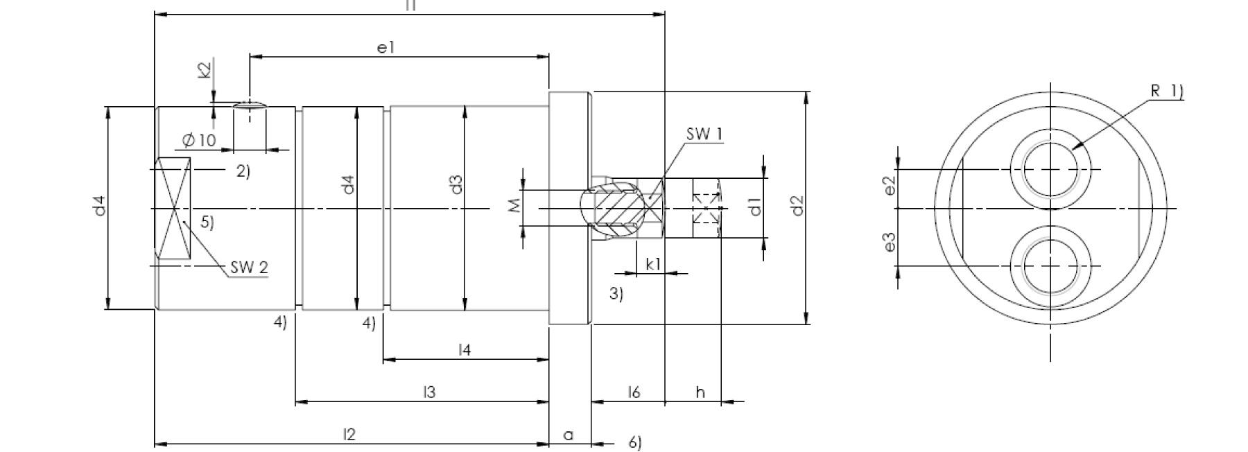 Druckzylinder HZDZ_II